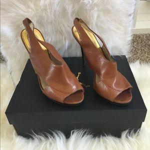 Michael kors slingback open toe sandals size 9.5
